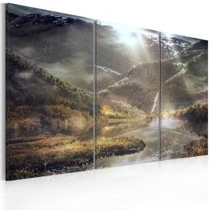 Obraz - The land of mists - triptych